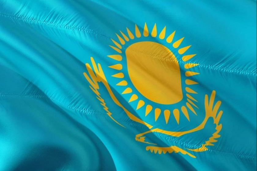 Kazakhstan national flag